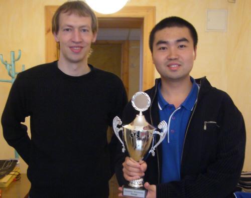 Jörn Tessen und Weng Hanming