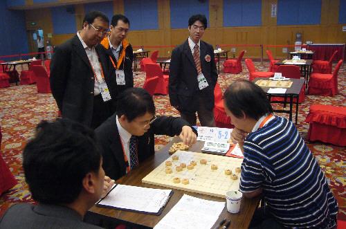 Shoshi Kazuharu gegen Ye Rongguang