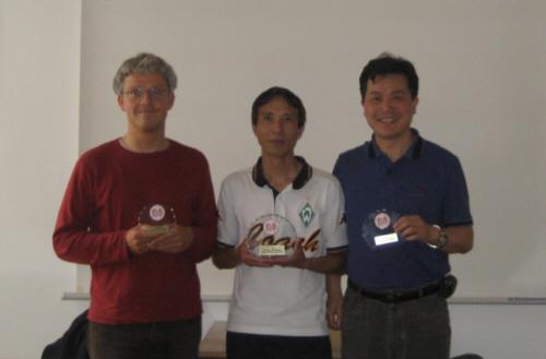 Die Turniersieger: Schmidt-Brauns, Lai Hop, Xue